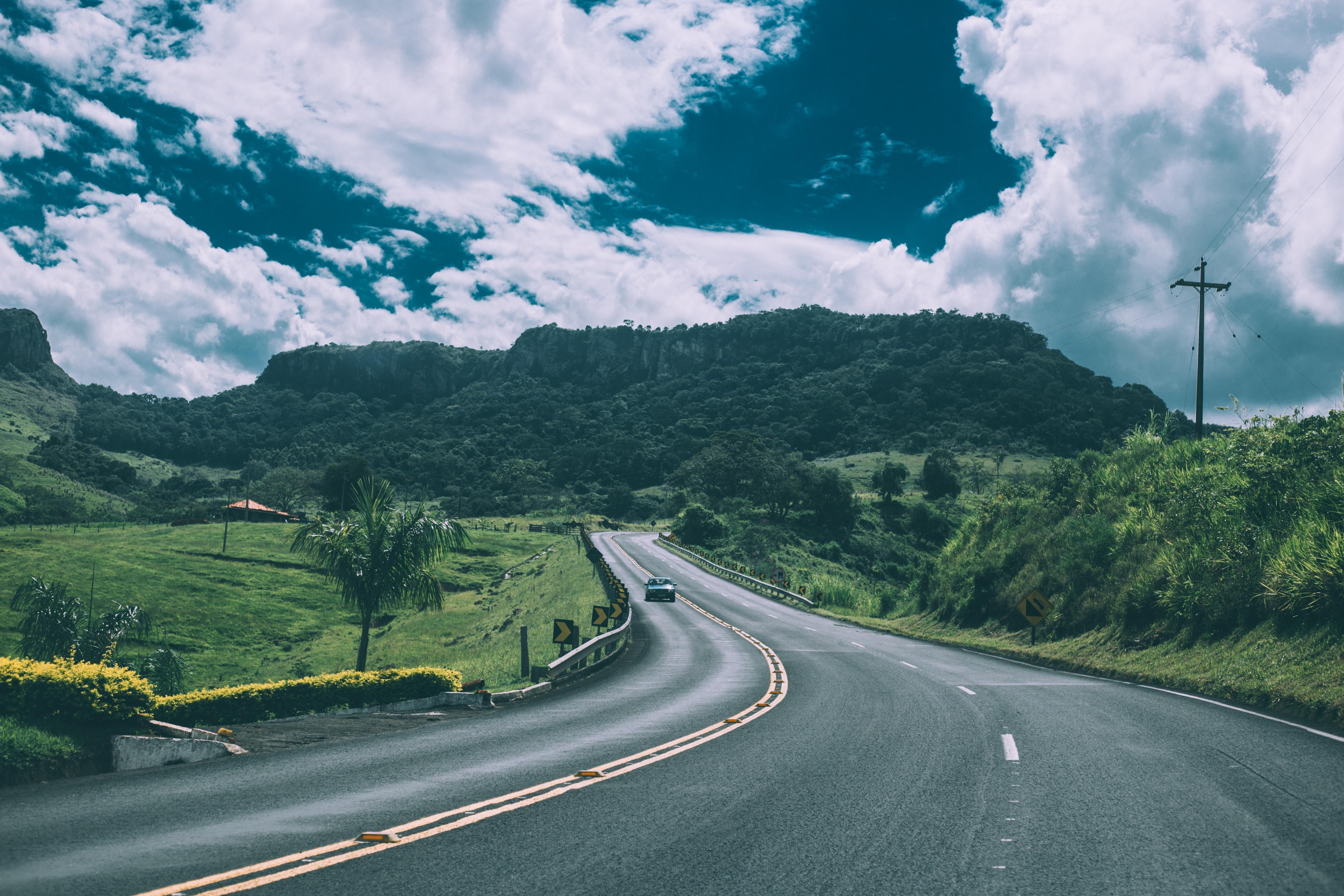 car-clouds-fields-57645