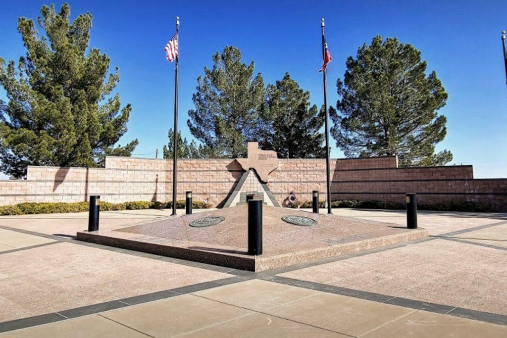 The Permian Basin's Vietnam Veterans Memorial near Stanley RV Park in Midland, TX