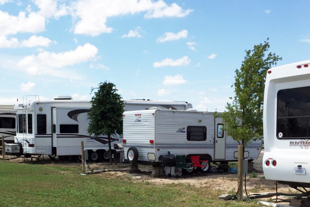 Stanley RV Park in Midland, TX Site View