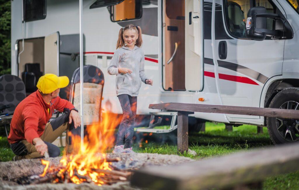 campfire Standley RV Park in Midland, TX